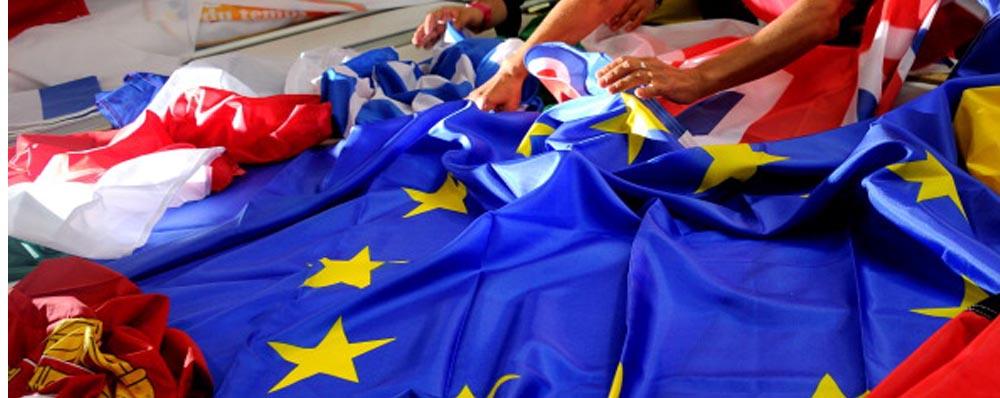 EUROPA - Bandiera UE in cucitura