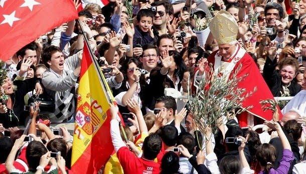 Pope Attends Palm Sunday Celebration