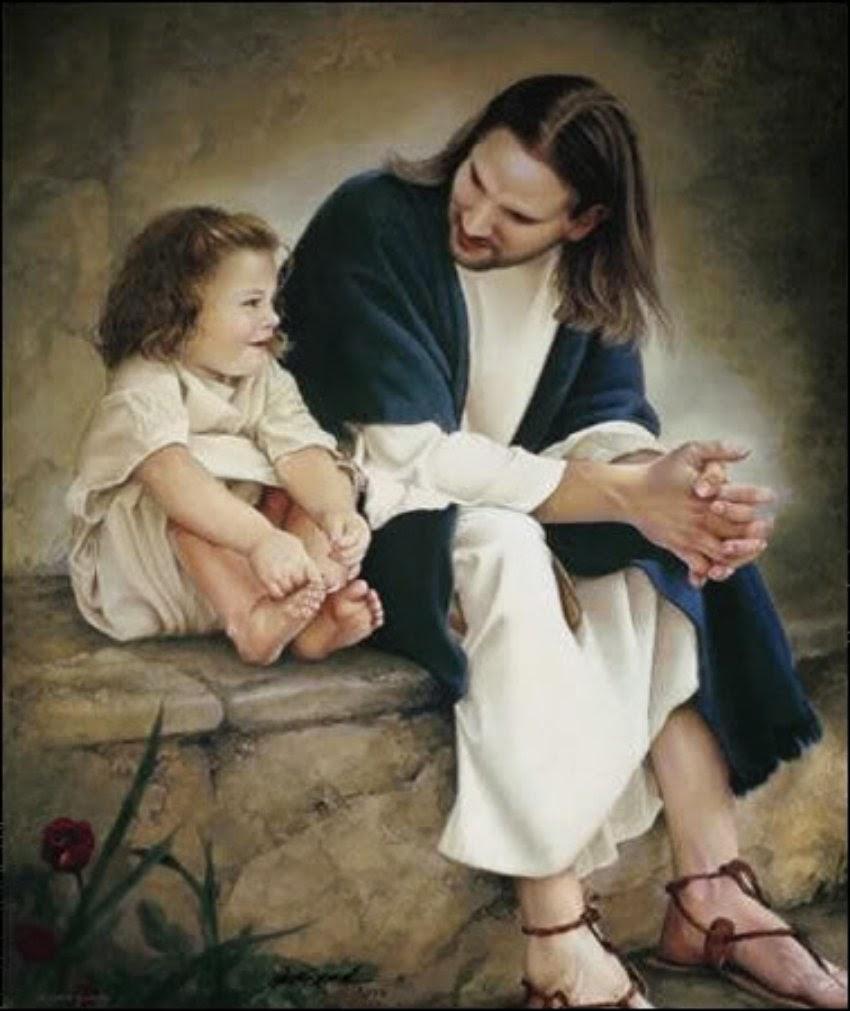 Gesù e una bambina