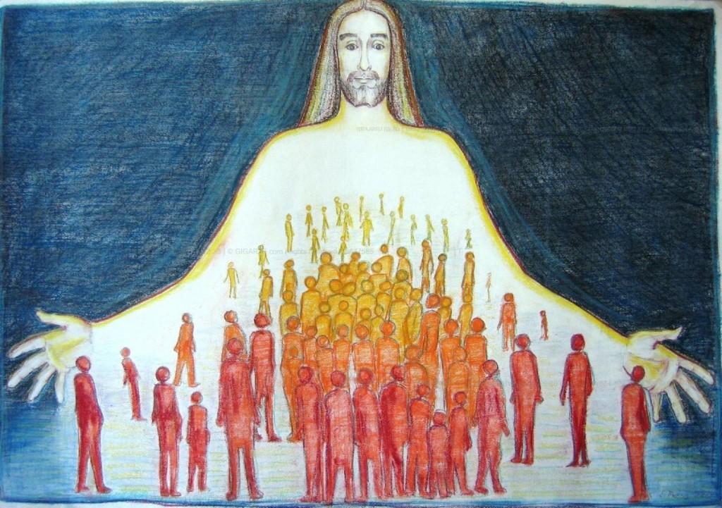 Gesù raccoglie i popoli