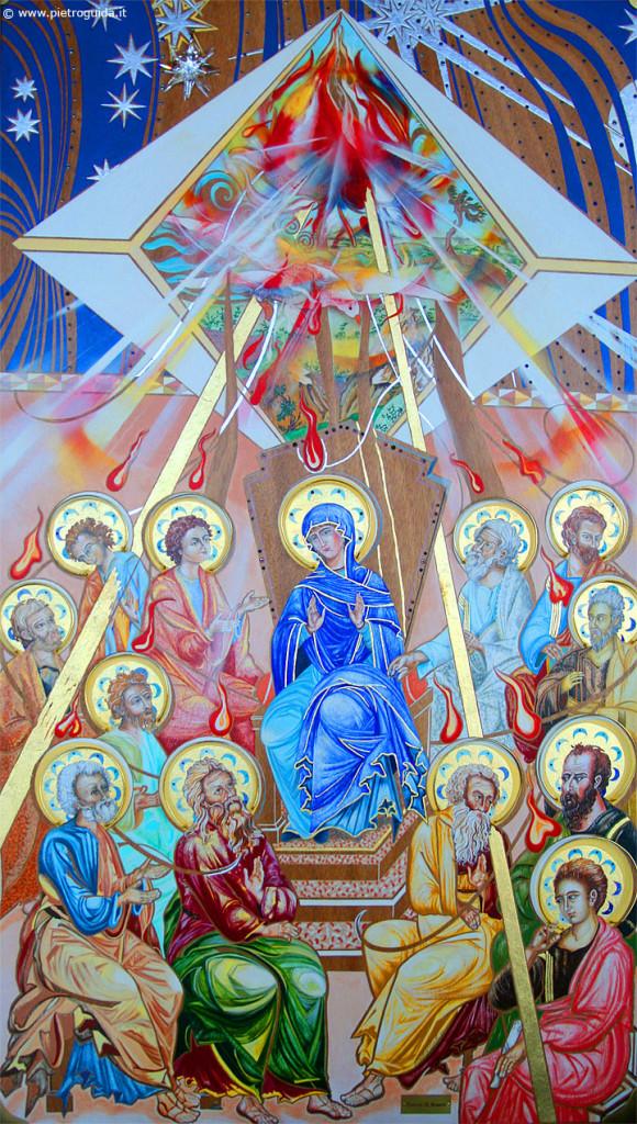 Pentecoste - Avezzano, interno chiesa dello Spirito Santo